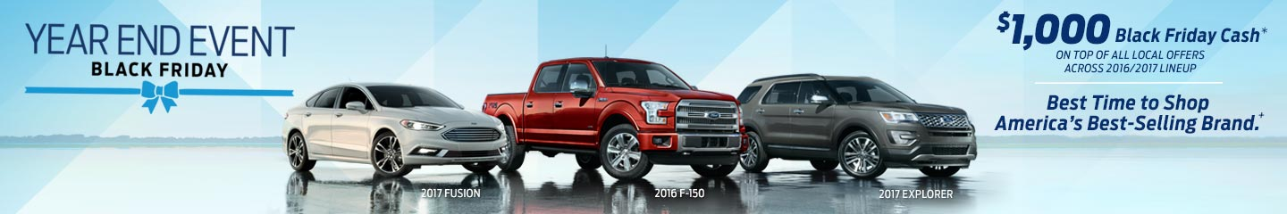 Ford Black Friday Sales Event - 2016 ford car lineup